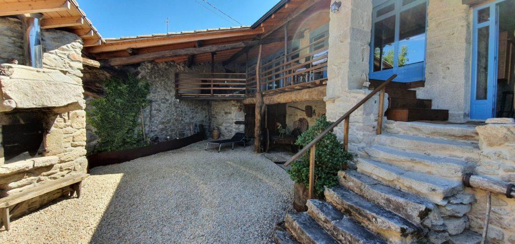 Patio of Casa do Polo